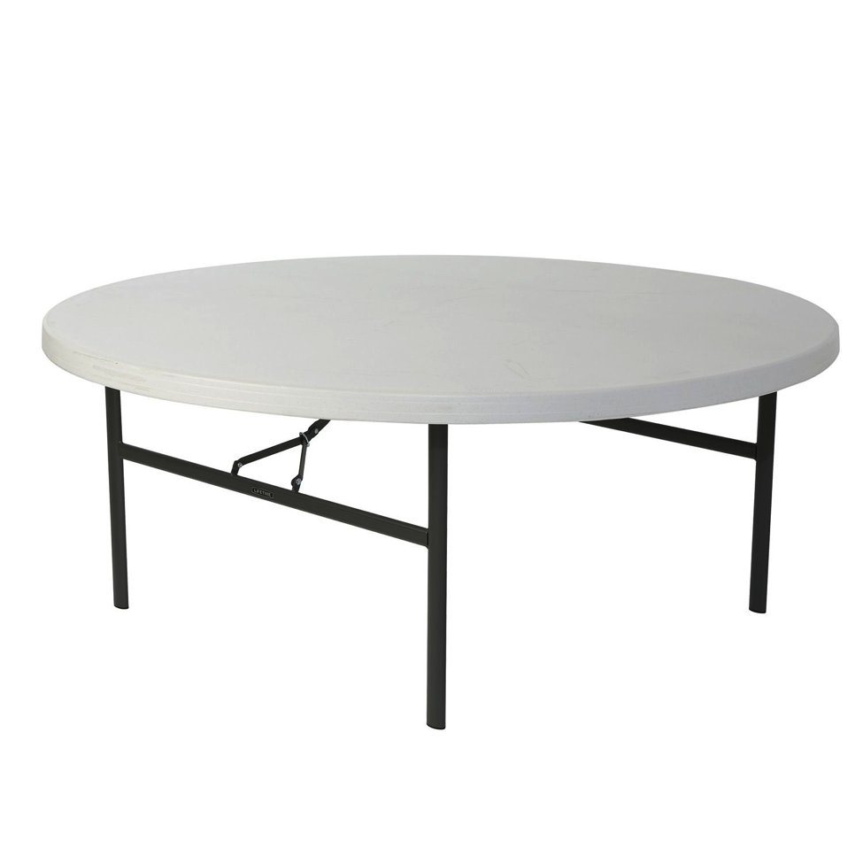 6-ft Round Table Image