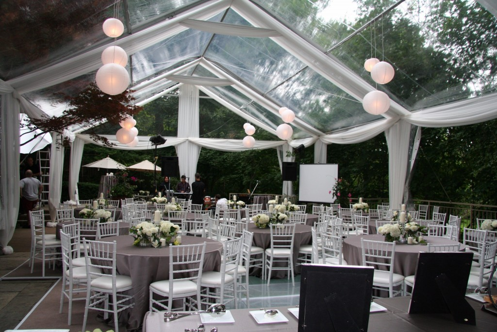 Our clear top tents are made out of durable burlap fabric which is much more durable than vinyl. Give us a call today to talk about having clear top tents ... & Event Rentals DC Announces New Clear Top Tents - Event Rentals DC
