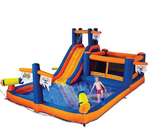 Water Park Moonbounce Image
