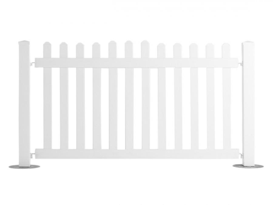 White Picket Fence Image