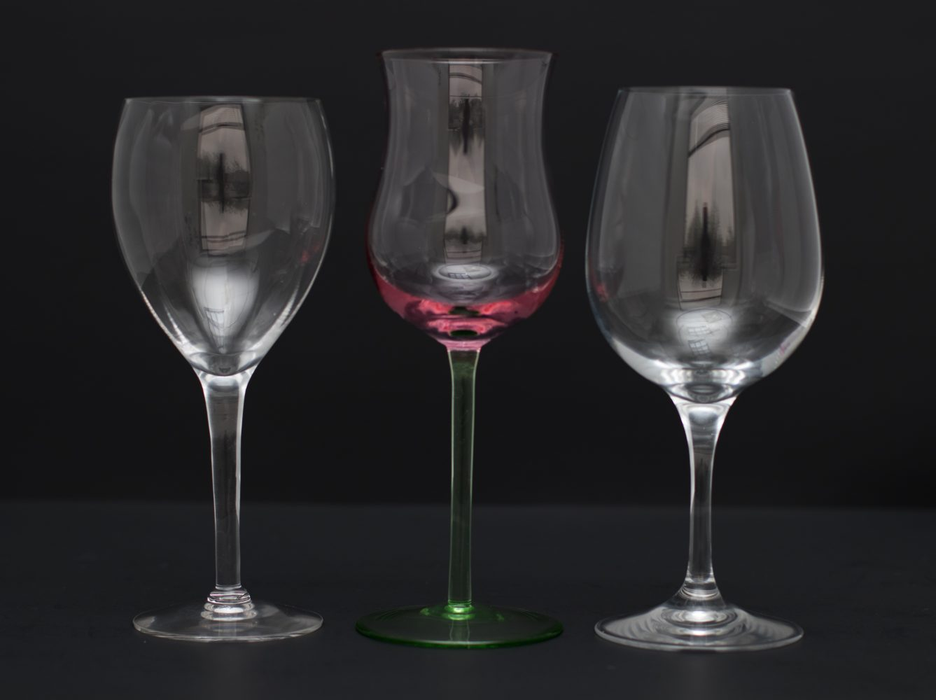 Tall Stem Red Wine Collection Image