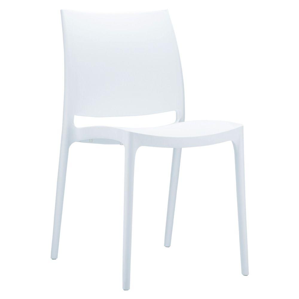 White Maya Chair Image